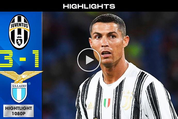 Video: Juventus vs Lazio 3-1 Extended Highlights & All Goals 2021