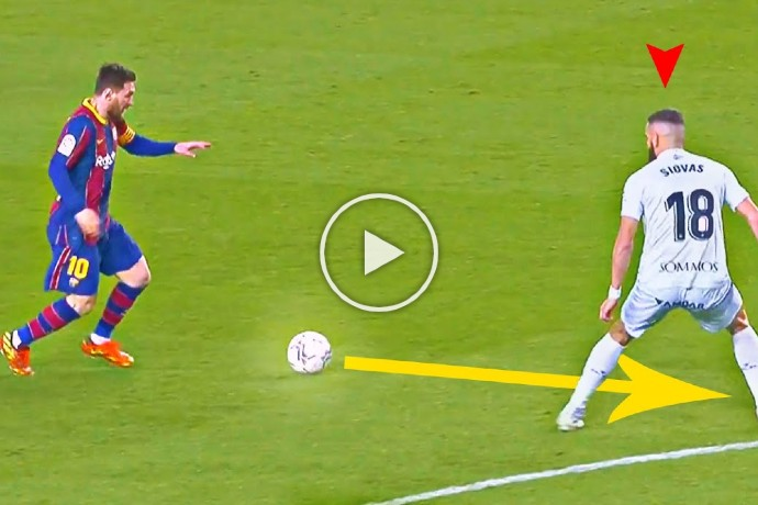 Video: Lionel Messi was Unstoppable in March 2021