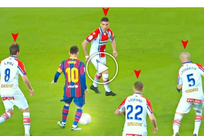 Video: Lionel Messi Playmaking Skills Are Inhuman