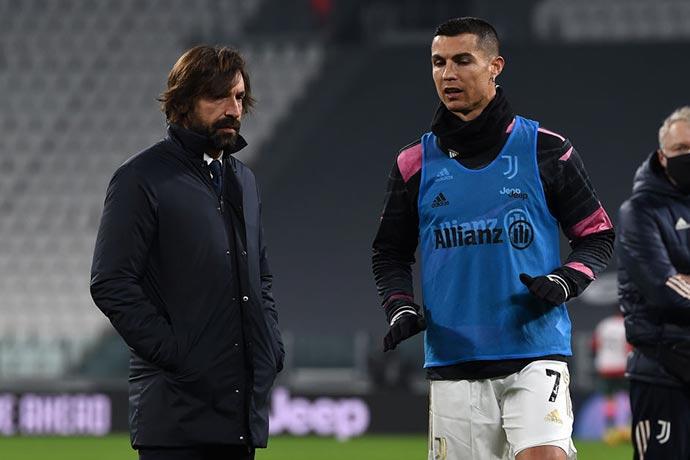 Ronaldo and Pirlo