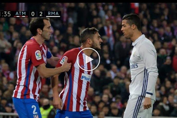 Video: How Ronaldo Replies to Trash Talking Footballers