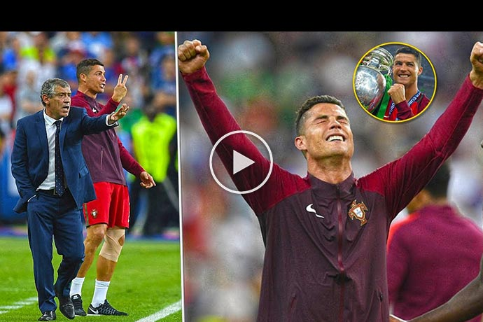 Video: The Day Cristiano Ronaldo Led Portugal And Was Champion