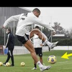 Video: Cristiano Ronaldo Does Illegal Things In Training!