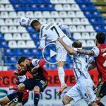 Video: Cristiano Ronaldo Amazing Header Goal   Cagliari 0-1 Juventus