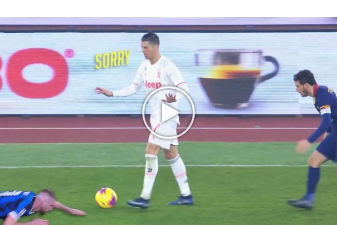 Video: When Cristiano Ronaldo Mocks His Opponent