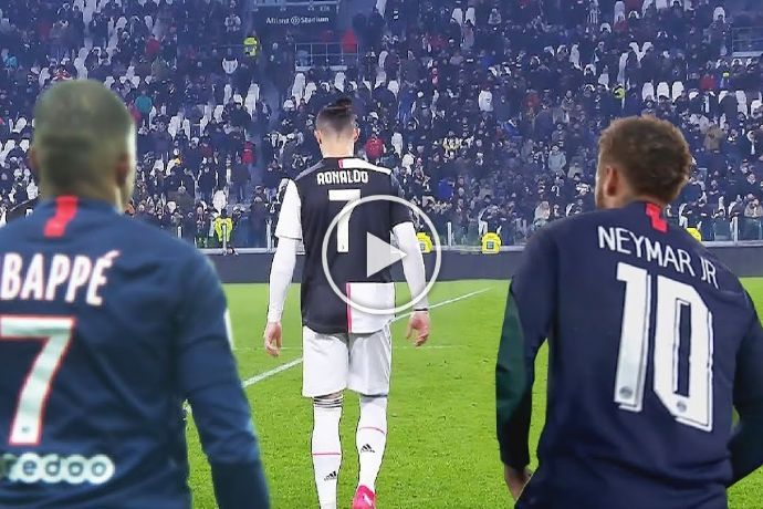 Video: Cristiano Ronaldo Shows Neymar & Mbappe Who is The Boss