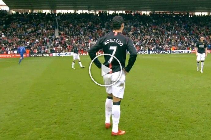 Video: Cristiano Ronaldo Dribbling Skills You Surely Ignored