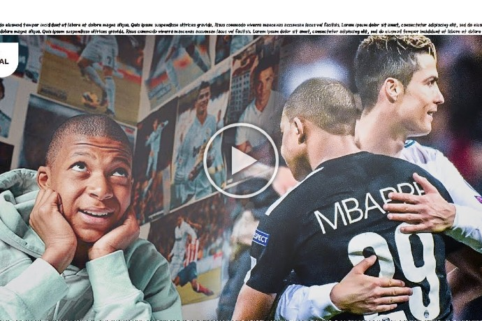Video: Mbappé reveals how Cristiano Ronaldo inspired him in a moving letter