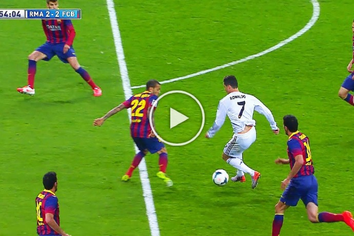 Video: Cristiano Ronaldo isn't Technically Gifted? Ok, Watch This Video!