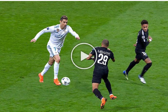 Video: The Day Cristiano Ronaldo Taught Football to Neymar & Mbappe