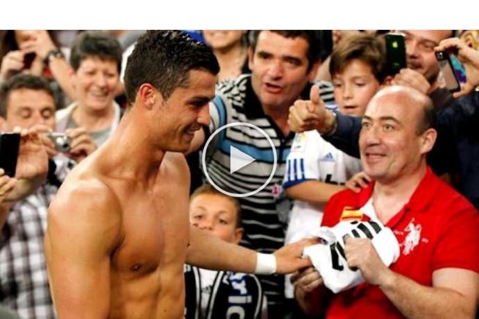 Video: When Cristiano Ronaldo Made His Fans Happy | Respect Moments