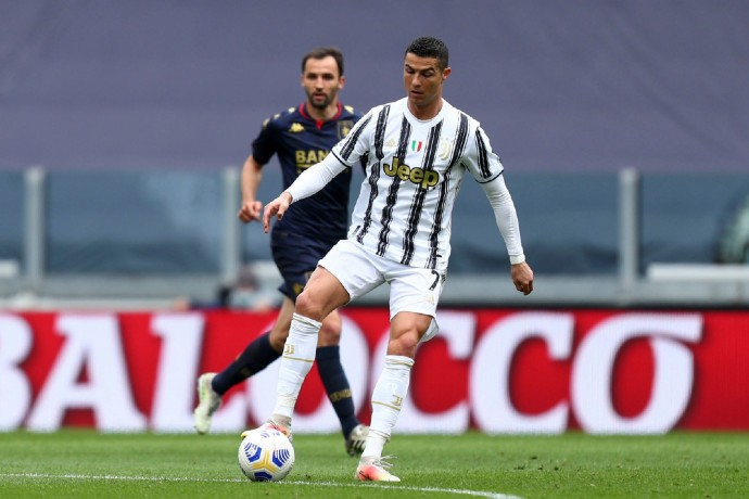 The future of Cristiano Ronaldo in Serie A is still up in the air.