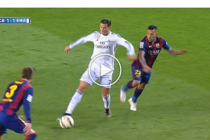 Video: Cristiano Ronaldo Plays Football Like FIFA Street!