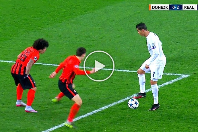 Video: Cristiano Ronaldo Can Do Everything with a Football