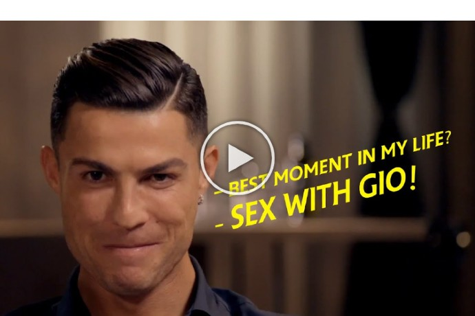Video: Moments That Prove That Cristiano Ronaldo Is Human Too