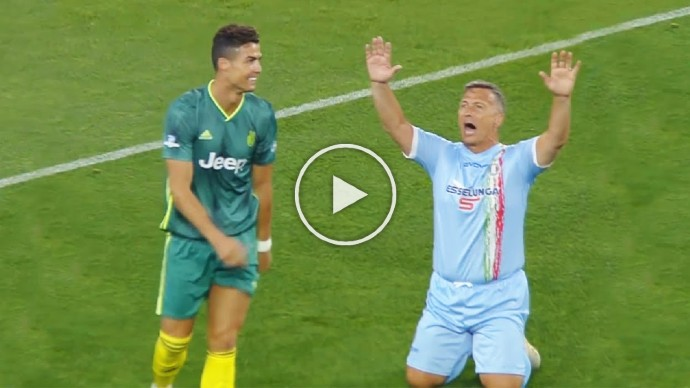 Video: Cristiano Ronaldo's Moments If They Were Not Filmed, No One Would Believe It