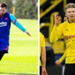 Man City not interested in Lionel Messi any longer, direct concentration toward Erling Haaland