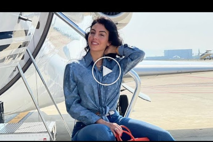 Video: Georgina Rodriguez Behind The Scenes Photoshoot With Chopard