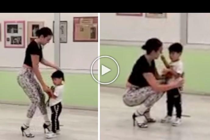 Video: Georgina Rodriguez dance with Cristiano Ronaldo's son Mateo