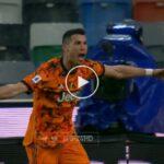 Video: Cristiano Ronaldo Amazing Second Goal against Udinese   Udinese 1-2 Juventus