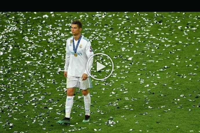 Video: The Last Game of Cristiano Ronaldo in Real Madrid 😢