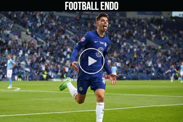 Video: Kai Havertz goal against Manchester City | Mason Mount Assist