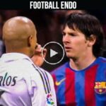 Video: Real Madrid Legends Will Never Forget YOUNG Lionel Messi   2005-2009