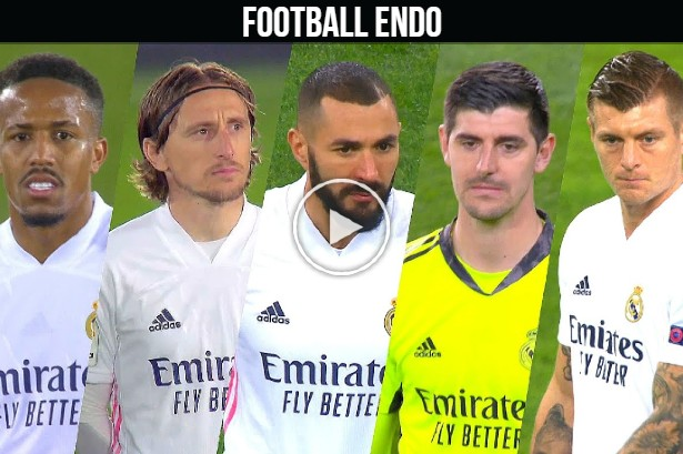 Video: Real Madrid TOP 5 Players of the Season 2020/21