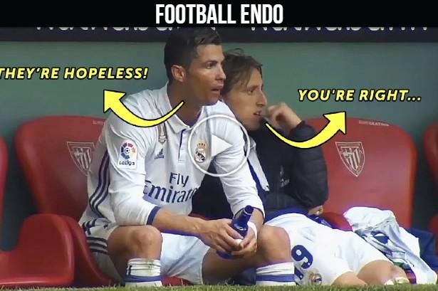Cristiano Ronaldo's Reactions On Teammates Actions