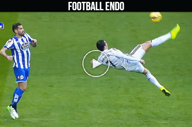 Cristiano Ronaldo ''Impossible is Nothing'' ► Genius Bicycle Kicks