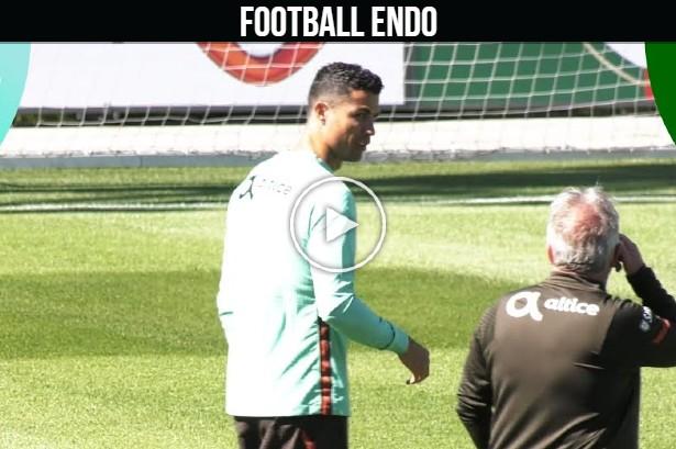 Video: Cristiano Ronaldo and Portugal prepare for final friendly