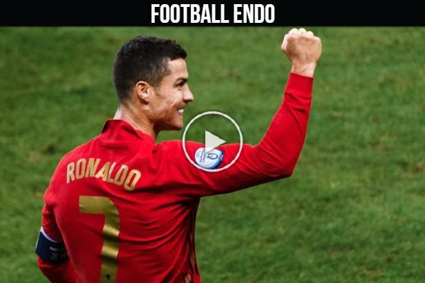 Video: Cristiano Ronaldo goal against Israel | Bruno Assist