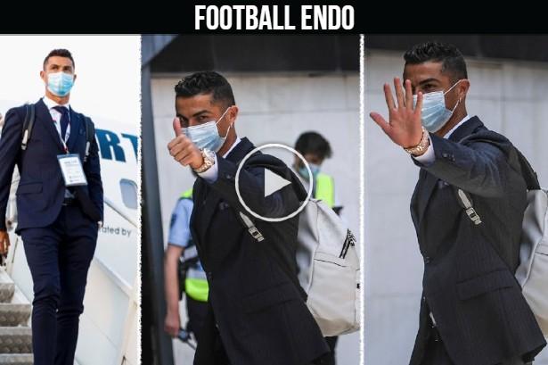 Video: Cristiano Ronaldo arrived in Budapest for EURO 2020