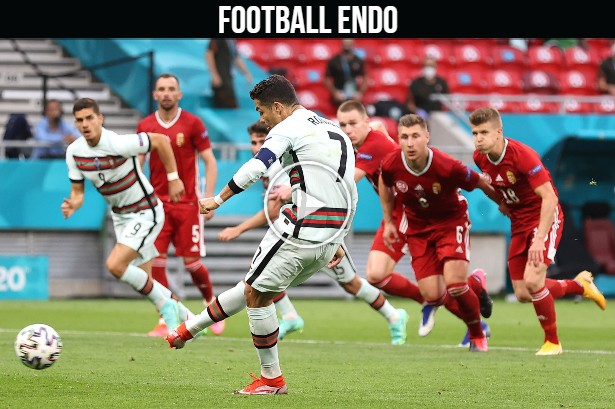 Video: Cristiano Ronaldo Goal against Hungary | Hungary 0-2 Portugal