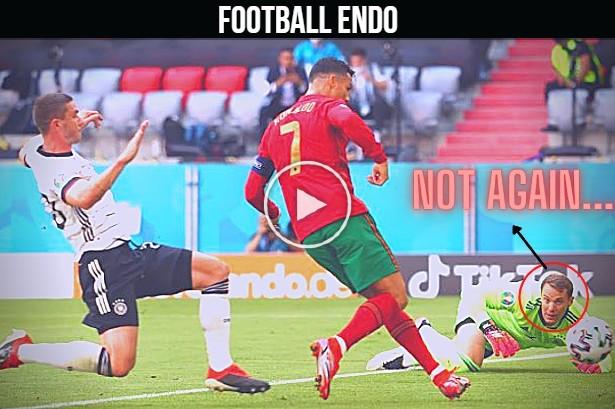 Video: Cristiano Ronaldo Loves To Play Vs Manuel Neuer 2021   All 10 Goals