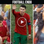 Video: Georgina Rodriguez and CR7 Jr attend match vs France in Budapest EURO 2020