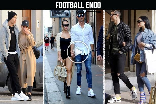 Video: Cristiano Ronaldo and Georgina Rodriguez street Compilation