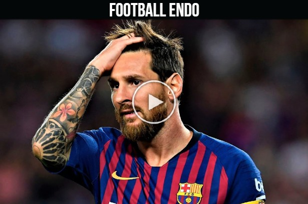 Video: Messi's Teammates Waste His Passes For 8 Minutes Straight