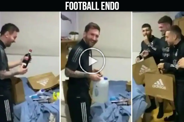 Video: The Argentina national team surprising Lionel Messi for his birthday