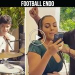 Video: Georgina Rodriguez with CR7 Jr and friends in Seville before match