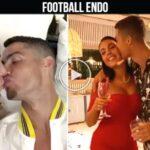 Video: Cristiano Ronaldo and Georgina Rodriguez KISS Sweet moments COMPILATION