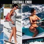 Video: Cristiano Ronaldo and Georgina Rodriguez leave yacht and rides Jet Ski in Mallorca