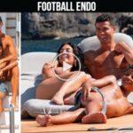 Video: Cristiano Ronaldo and Georgina Rodriguez with all children vacation in Mallorca