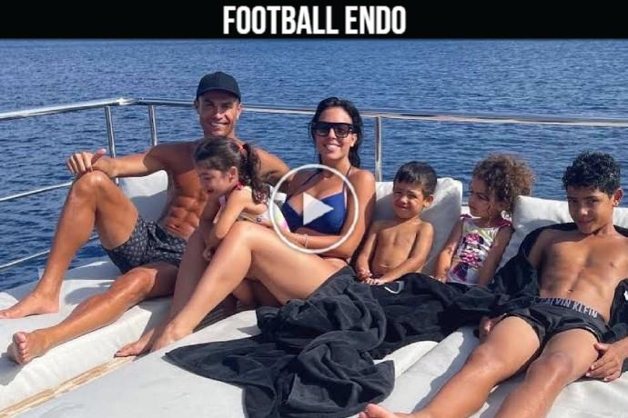 Video: Cristiano Ronaldo and Georgina Rodriguez family vacation 2021 has already begun