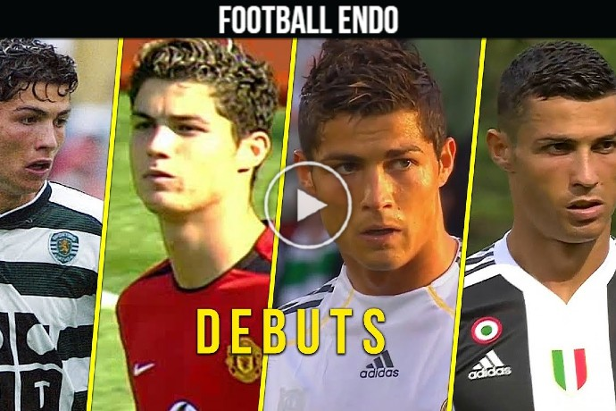 Video: Cristiano Ronaldo Debuts for Sporting, Man United, Real Madrid, Juventus