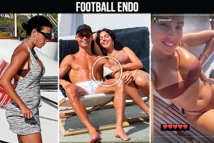 Video: Cristiano Ronaldo and PREGNANT Georgina Rodriguez expecting second child together