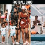 Video: Cristiano Ronaldo and Georgina Rodriguez with children relaxes at yacht