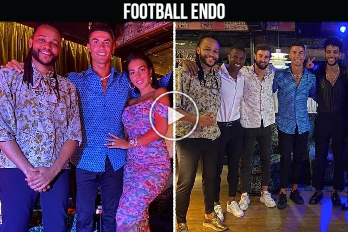 Video: Cristiano Ronaldo and Georgina Rodriguez latest night in Lisbon before back to Turin