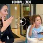 Video: Georgina Rodriguez develop singing talent of her daughter Alana