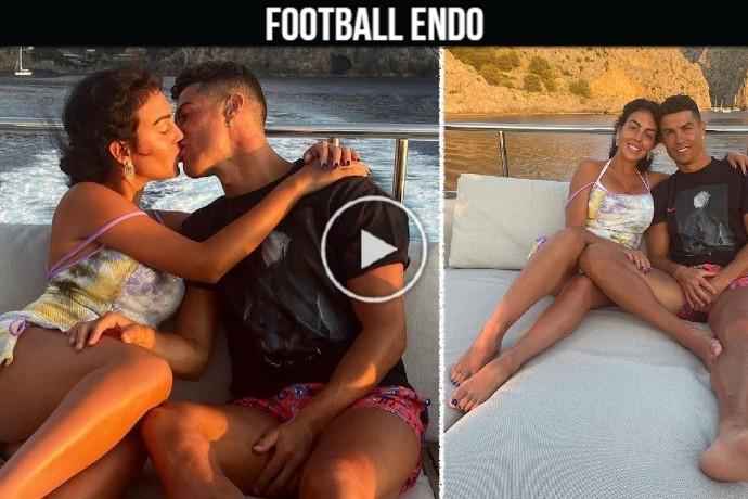 Video: Cristiano Ronaldo and Georgina Rodriguez sweet moment in Mallorca